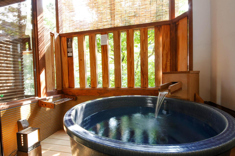 ひとときの贅沢露天風呂付き客室